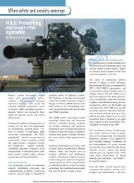 MILS: Protecting our most vital systems - Military Embedded Systems