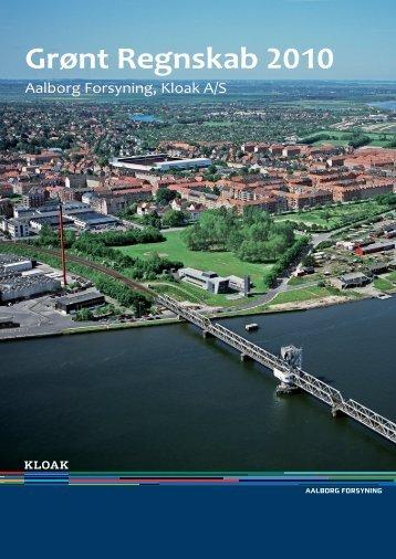 Grønt Regnskab 2010 - Aalborg Forsyning