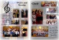 Choir & Ministries