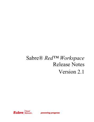 Notes Template - Eservice Staging Server - Sabre Holdings