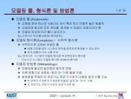 + M&S + IT - Systems Modeling Simulation Lab. KAIST