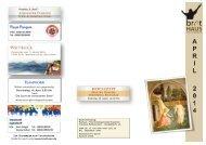 aktuellen Monatsplan - Freie Christengemeinde Rosenheim