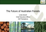 The Future of Australian Forests
