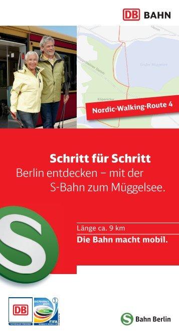 Route 4: Mit der S-Bahn zum Müggelsee - S-Bahn Berlin GmbH
