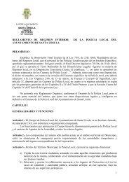 reglamento de regimen interior de la policia local del ayuntamiento ...