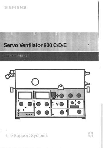 siemens servo 900 ventilator service manual frank s hospital