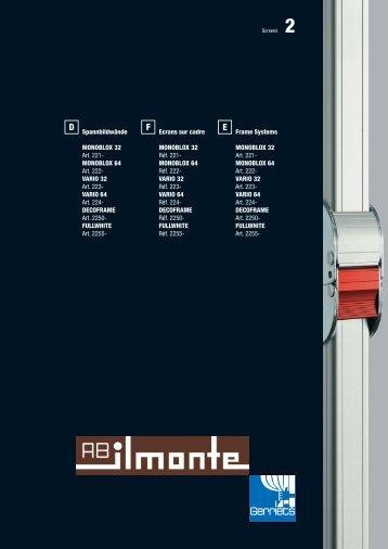 MONOBLOX 64 Art. 222 - ab ilmonte