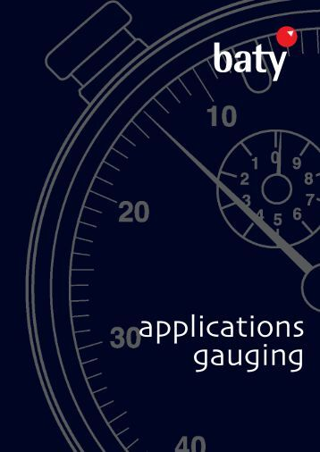 applications gauging - Baty International