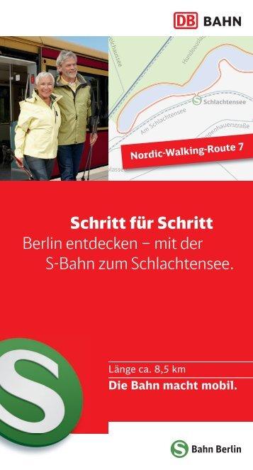 mit der S-Bahn zum Schlachtensee. - S-Bahn Berlin GmbH