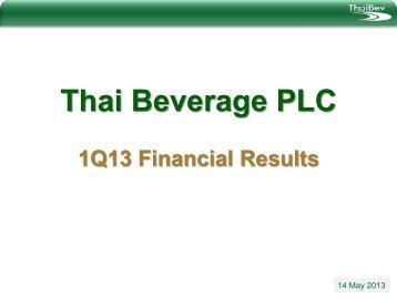 Attachment 1 - Thai Beverage Public Company Limited