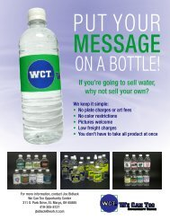 If you're going to sell water, why not sell your own?