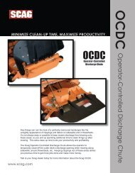 Operator-Controlled Discharge Chute