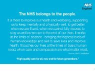 NHS England chief executive job description - Health Service Journal