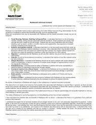 Radiesse® Informed Consent - Urogyn.org