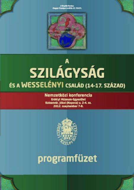 Full page fax print - Societatea Muzeului Ardelean