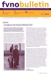 Uruzgan en de nieuwe Defensie CAO - Kvmo