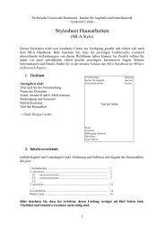 Stylesheet Hausarbeiten - Iaawiki - TU Dortmund