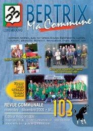 Revue Communale de Bertrix n° 103