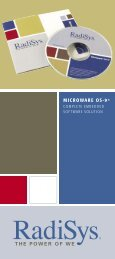 Radisys_datasheet_OS.. - Acoutronic.se