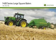 1400 Series Large Square Balers - Lectura SPECS
