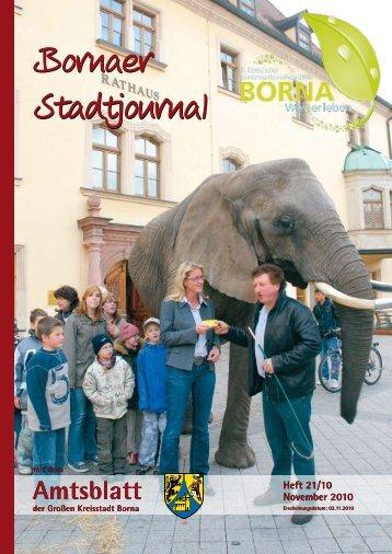 Heft 21/10 November 2010 - Druckhaus Borna