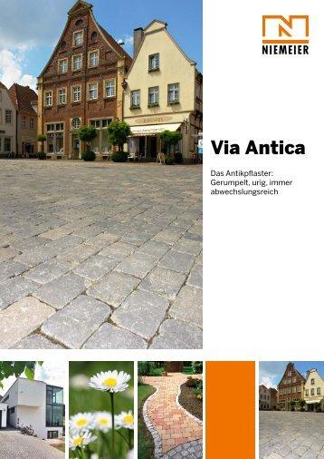 Via Antica - Pflastersteine von Niemeier