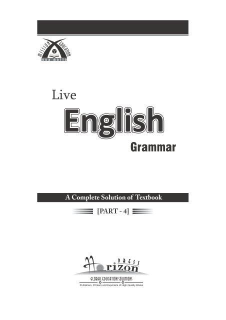 Live English Grammer - Part 4.pdf - School Books Publishers India