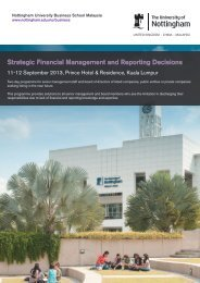 Strategic Financial Management and Reporting Decisions