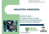 Automatización de procesos de manufactura