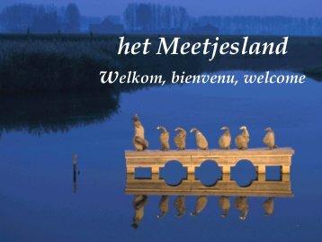 Bekijk hier de drietalige presentatie van het ... - Meetjesland.be