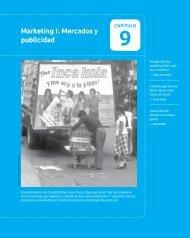Marketing I: Mercados y publicidad