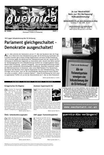 guernica 2/2005 - Friedenswerkstatt Linz