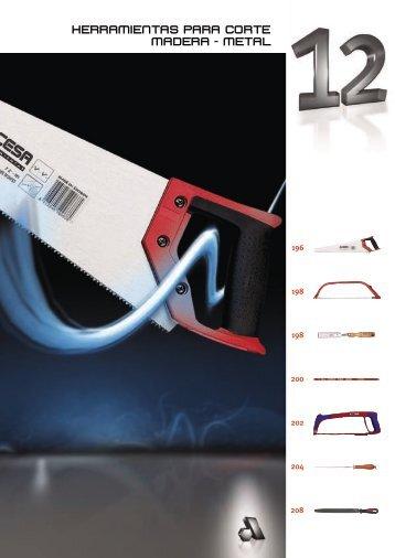 herramientas para corte madera - metal - Acesa