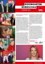 Rosengarten Rundschau Ausgabe Juli 2013 - SPD Rosengarten