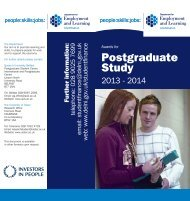 Postgraduate Study - Research - University of Ulster