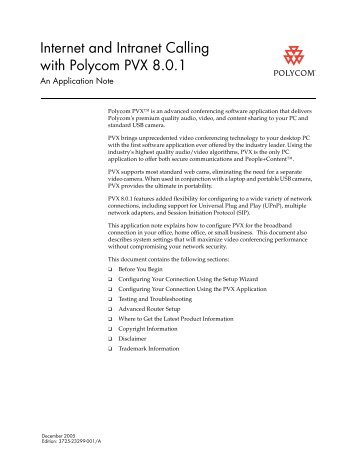 watchguard polycom pvx via video firewall setup instructions rh yumpu com