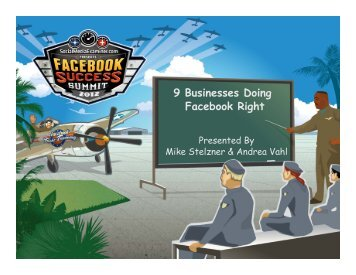 9 Businesses Doing Facebook Right - Social Media Examiner