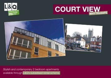 COURT VIEW - London & Quadrant Group