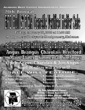 2009 EPD Sale Catalog Front Cover.pub - AL BCIA