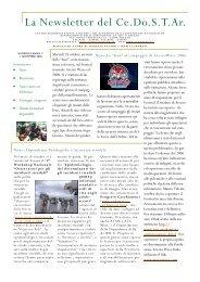 newsletter n 8 - Ce.Do.S.T.Ar.