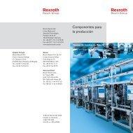 Komponenten für die Produktion es - Bosch Rexroth