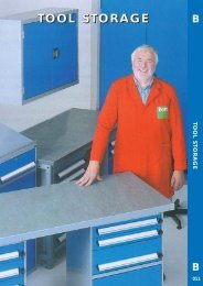 Tool Boxes & Storage Leaflet - toolequip.ie