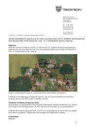 Landzonetilladelse til opstilling af 42 meter høj gittermast samt 2 ...