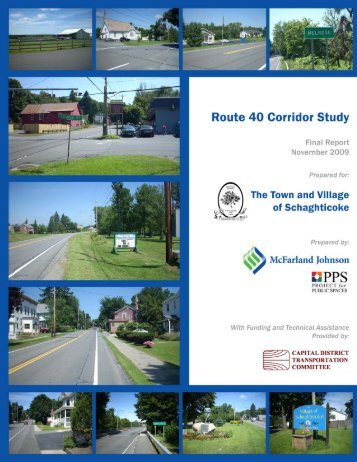 Final Report (7 MB PDF) - Capital District Transportation Committee