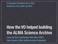 How the VO helped building the ALMA Science Archive