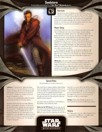 Sandstorm - Star Wars Miniverse