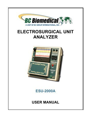 User Manual - BC Group International Inc.