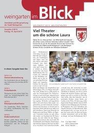 Ausgabe 2/2013 - Weingarten im Blick