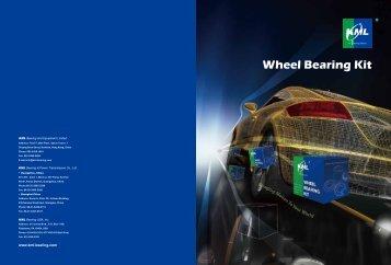 Wheel Bearing Kit - KML Bearing and Equipment Ltd.