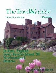 Vol. 28 No. 4 May 2010 - The Travel Society